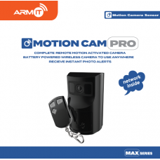 ARMIT MotionCam-Pro™ - Black | Wireless Motion Sensor Camera